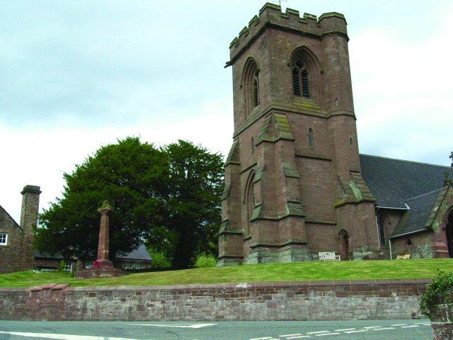 St Marys Church in Hales Loggerheads Parish Staffordshire
