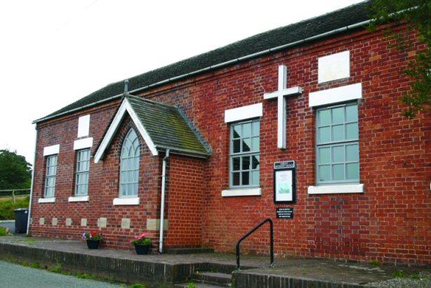 Ashley Methodist Church in Loggerheads Parish Staffordshire