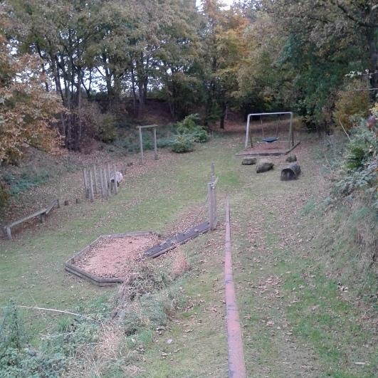 Knighton Play Area in Loggerheads Staffordshire